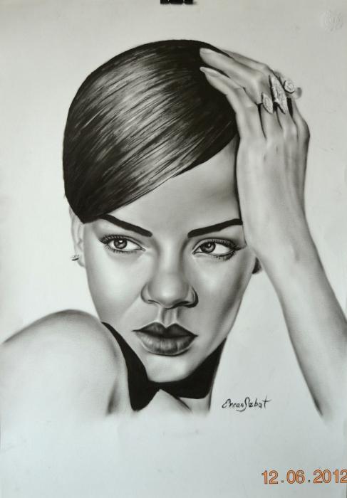Rihanna by ercansebat